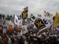 Massa PKS Kompas/Yuniadhi Agung