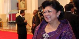 Ibu Ani Yudhoyono. | KOMPAS