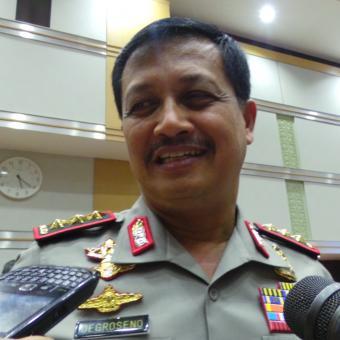 Wakil Kepala Polri Komisaris Jenderal Oegroseno. - KOMPAS