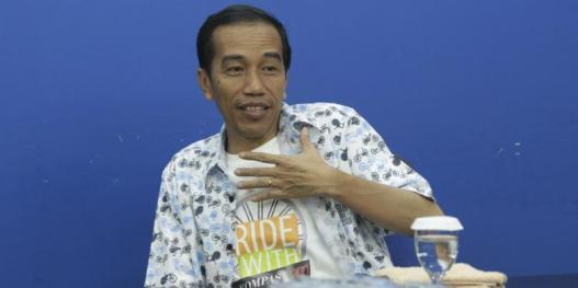 Gubernur DKI Jakarta, Joko Widodo. - KOMPAS