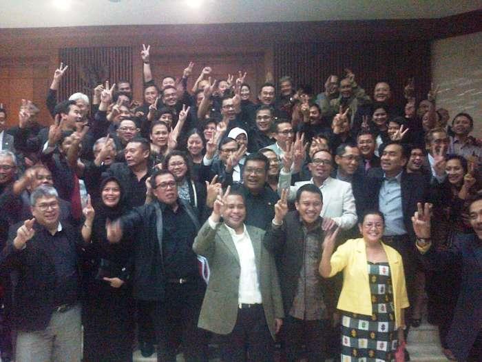 PDI Perjuangan, PKB, dan Hanura, walk-out lantaran menilai revisi UU MD3 terkesan dipaksakan. - Metronews
